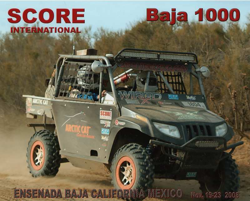 2008 Baja 1000 - Arctic Cat Prowler 1000 XTZ - Bi-Polar Racing