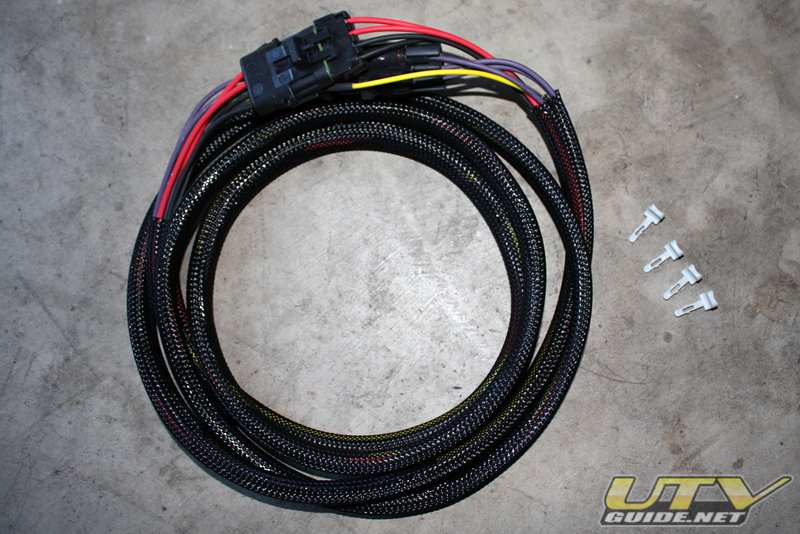RZR Voltage Regulator Relocation Harness