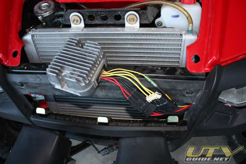 2008RZR VoltageRegulator 004 polaris rzr voltage regulator relocation utv guide