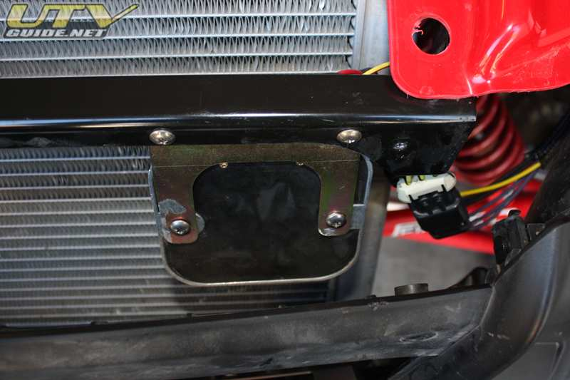 2008 Polaris RZR Voltage Regulator Relocation