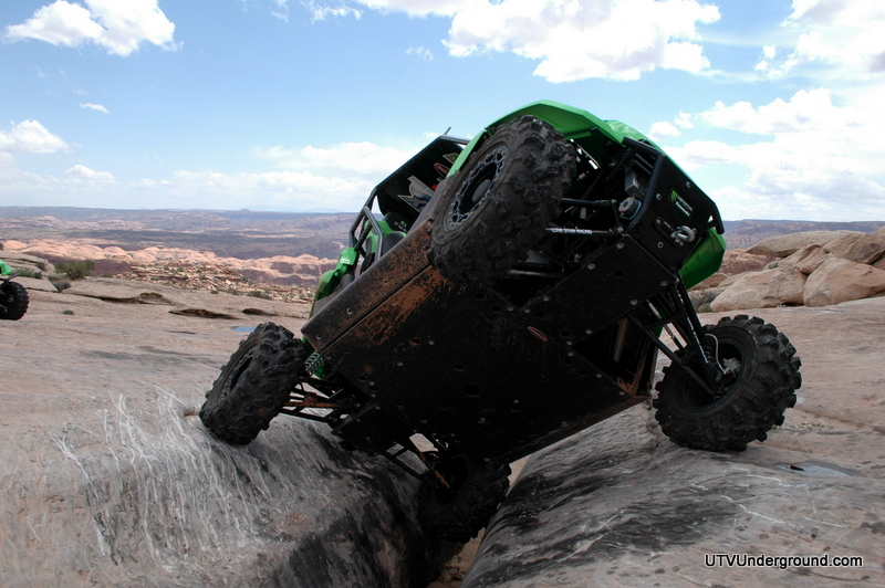 Kawasaki Teryx crossing the Golden Crack