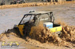 Can-Am Commander in the Sand Pit at Mud Nationals