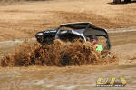 Polaris RZR S in the Sand Pit at Mud Nationals