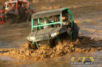 Polaris RZR in the Sand Pit at Mud Nationals