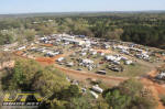 Main vendor area at 2011 Mud Nationals