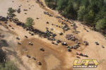Mud Nationals - The Sand Pit from the air