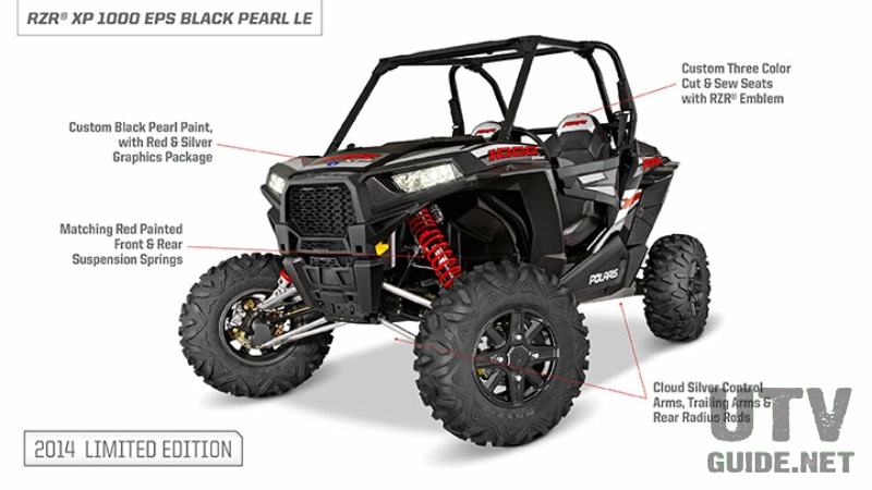 2014 RZR XP 1000 EPS - Black Pearl