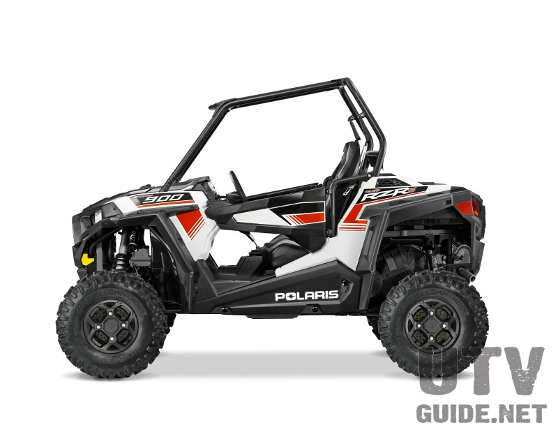 Polaris RZR S 900 White Lightning
