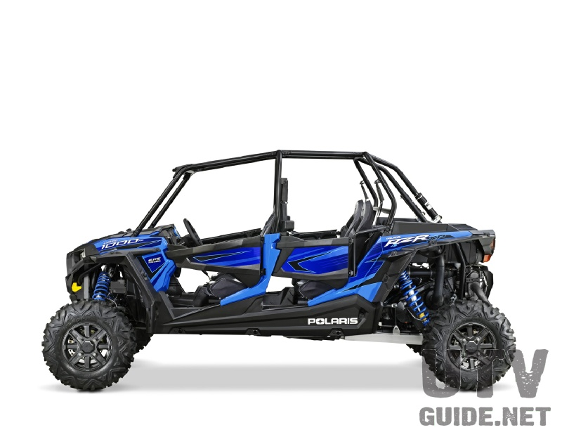 Voodoo Blue 2015 Polaris RZR XP 4 1000
