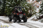 Polaris RZR on the trail in the Eldorado National Forest