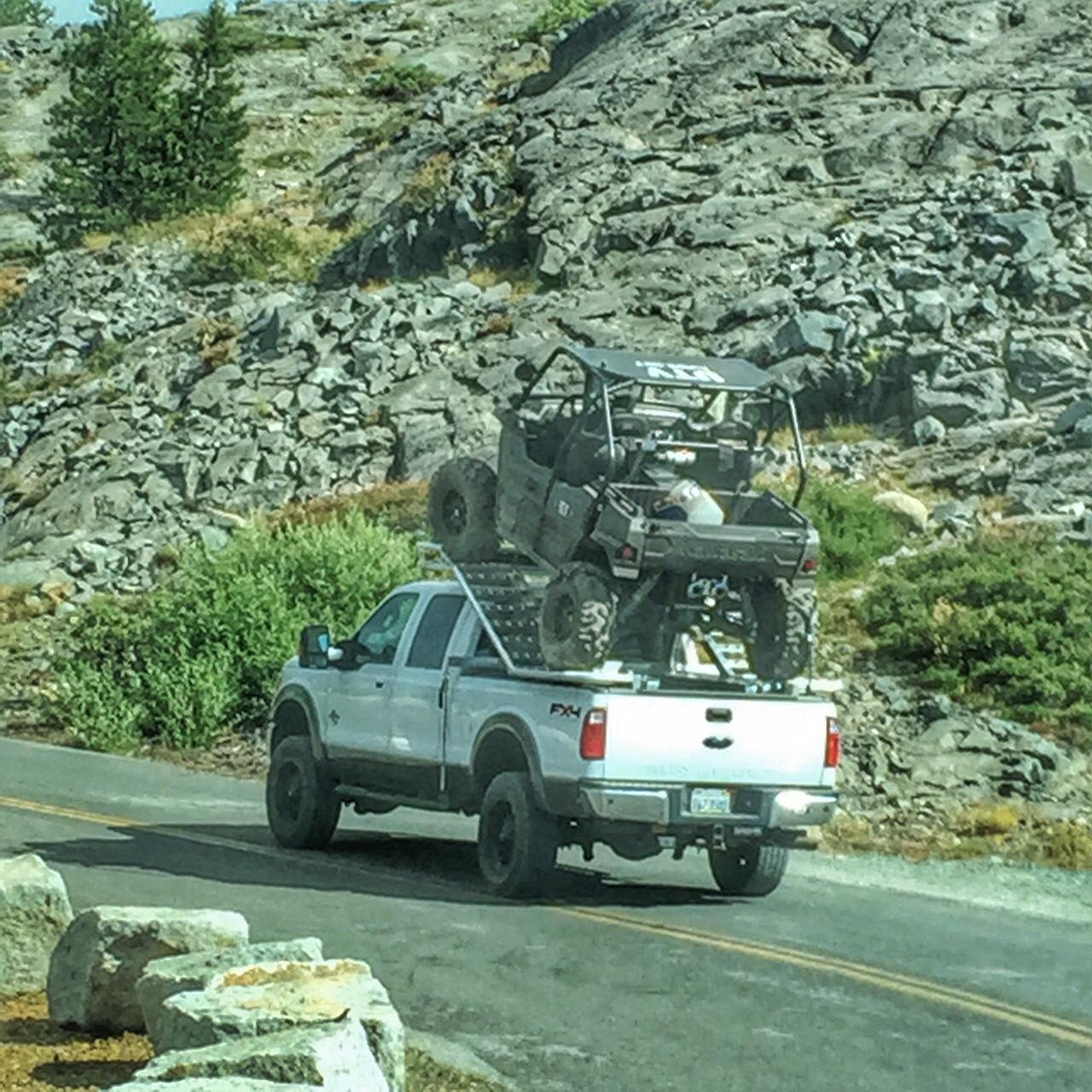 Utv truck rack review utv guide for Side by side einbauger t