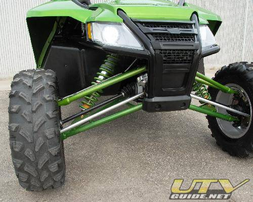 Arctic Cat Wildcat 1000 double-wishbone front suspension