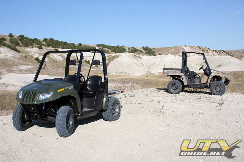 Arctic Cat Prowler 550 and Prowler 700