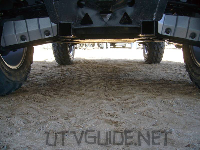 Arctic Cat Prowler - Ground Clearance