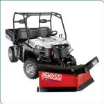 Polaris BOSS Lift & Carry V-Plow