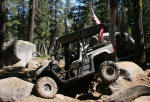 Barrett Lake Jeep Trail - Stuck in the Rock Garden