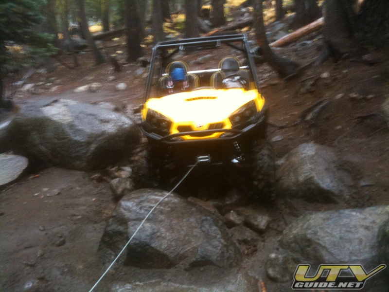 Can-Am Commander 1000 XT Winch