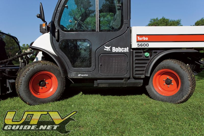 All Wheel Steer - Bobcat Toolcat