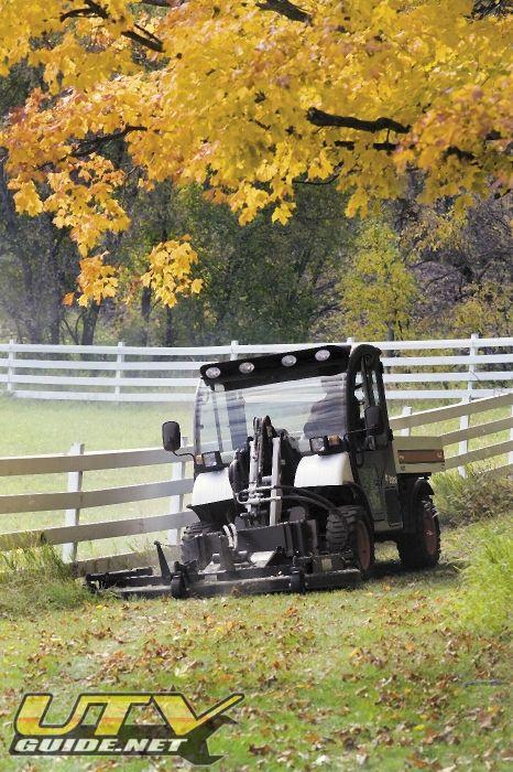 Toolcat 3 Point Hitch : Bobcat toolcat utility vehicle utv guide