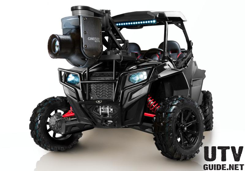 Polaris RZR with Cineflex ELITE camera system