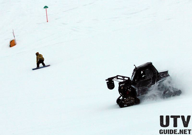 Cinema RZR on the slopes at Jackson Hole Resort - photo by Patrick Nelson