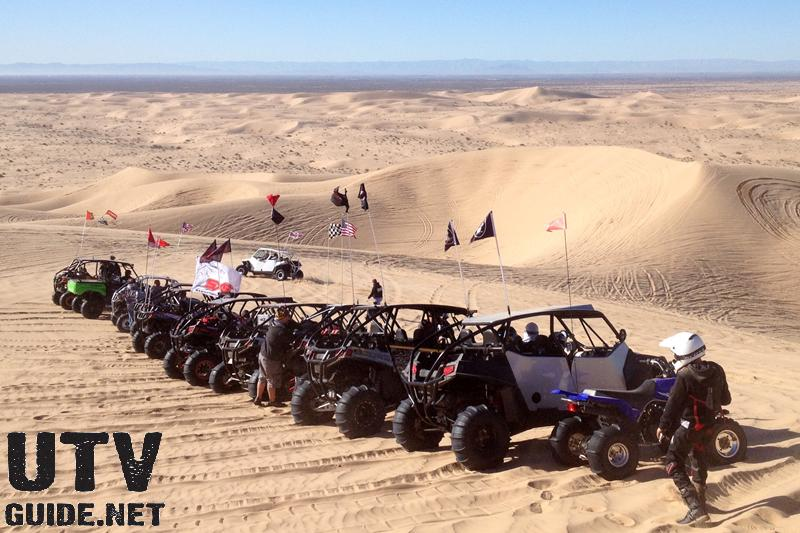 UTV ride in Glamis