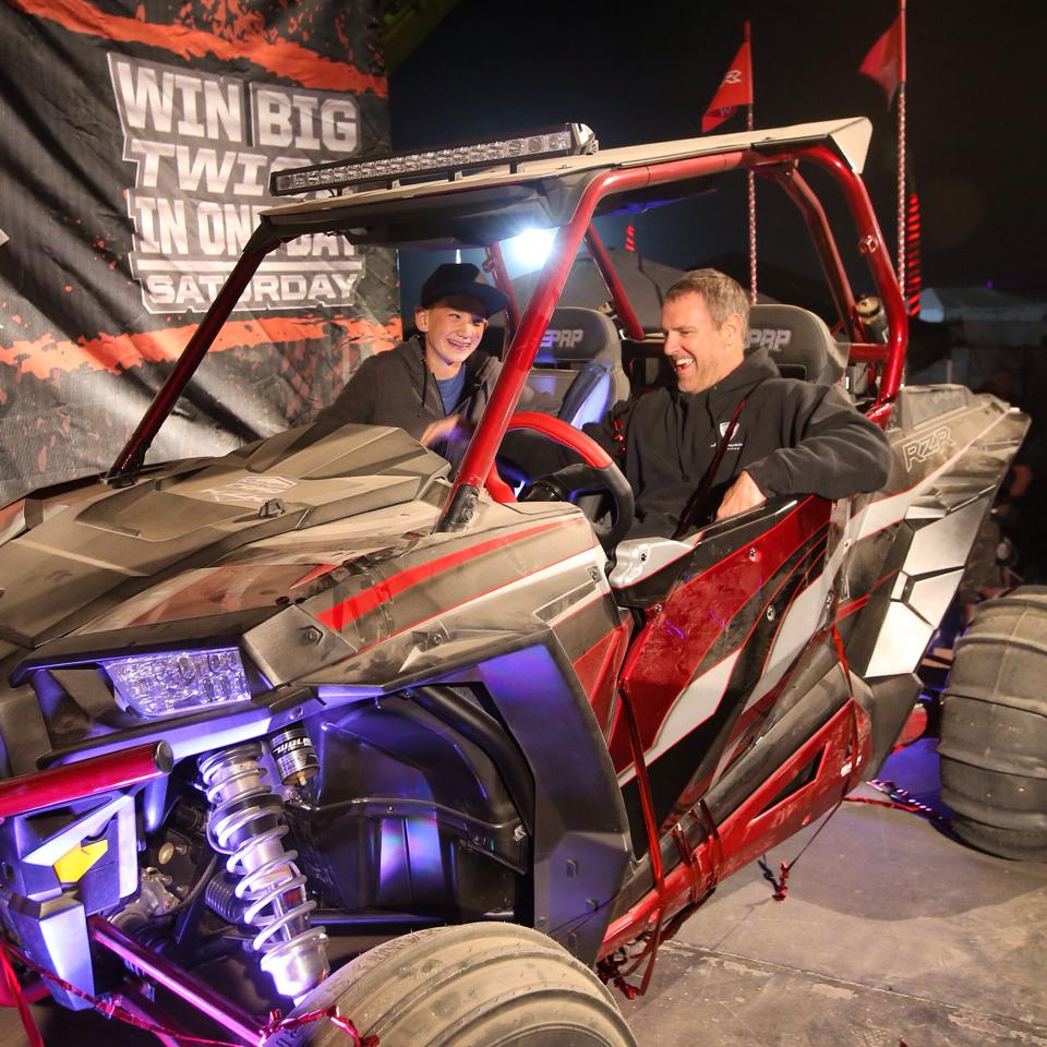 RZR XP 1000 Winner at Camp RZR West