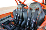 Triple X Seats with Simpson Harnesses