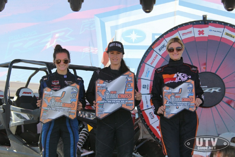 Terracross 2015 Women's Championship Podium