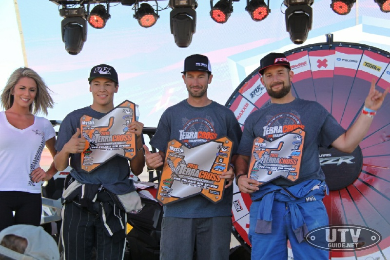 Terracross 2015 Men's Championship Podium