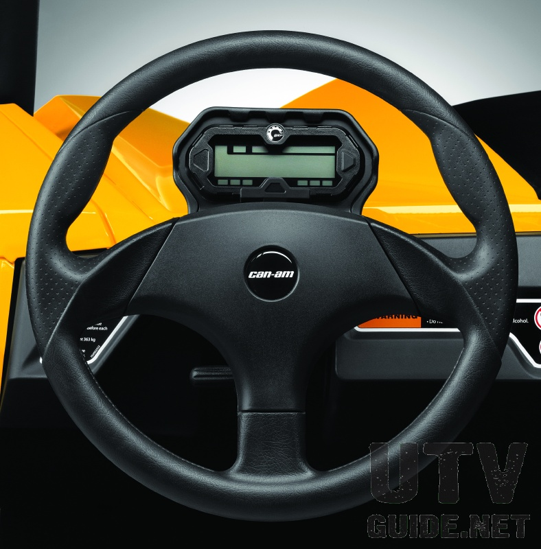 Can-Am Maverick Steering Wheel