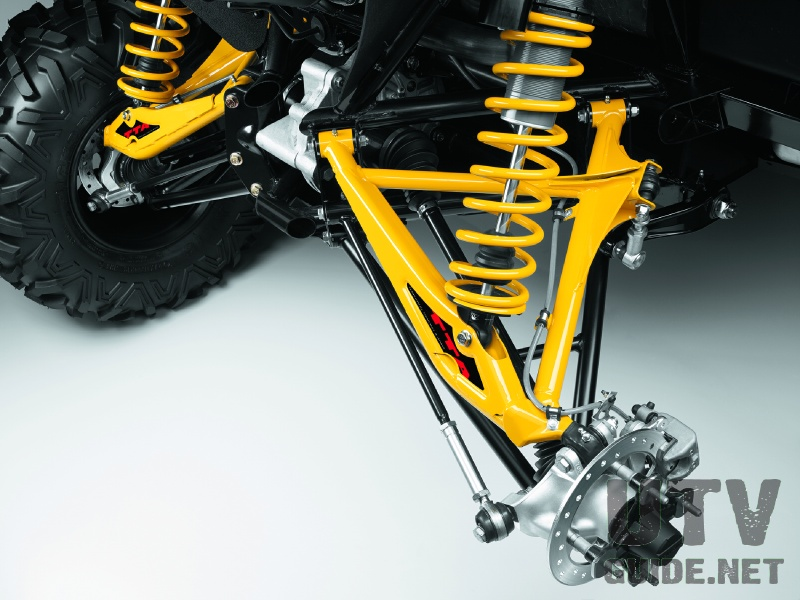 Torsional Trailing A-Arms (TTA) Independent Rear Suspension