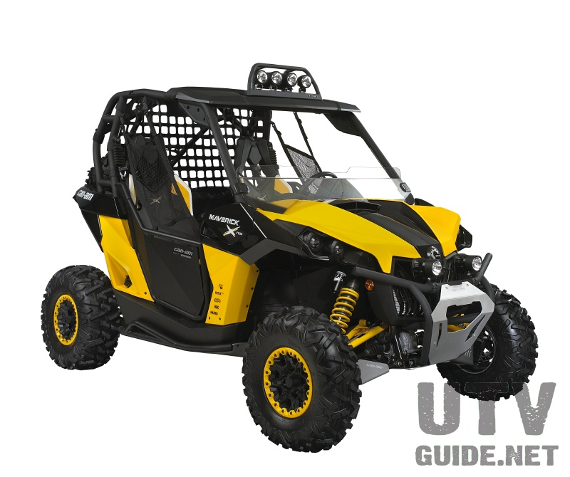 Can Am Maverick Fully Accessorized can am maverick 1000r utv guide