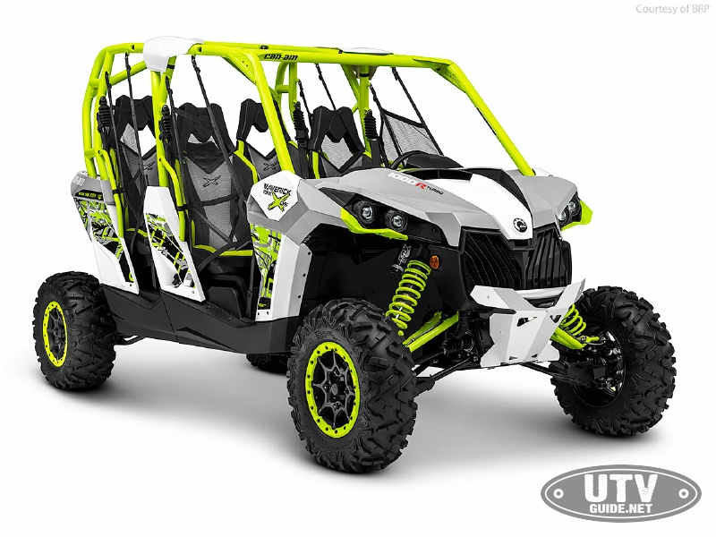 2017 Can Am Maverick 4 Seater >> 2016 Four-Seat UTV Review - UTV Guide