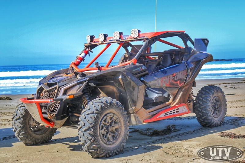 Can-Am Maverick X ds with LSR accessories