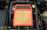 Can-Am Commander Air Filter and Radiator overflow