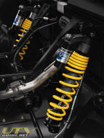 Can-Am Commander Fox Racing Shox HPG piggyback shocks