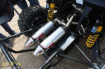 Can-Am Commander Dual Exhaust