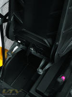 Can-Am Commander under driver's seat cockpit storage