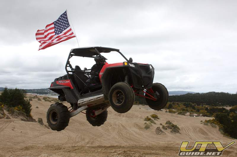 Polaris RZR XP at the Oregon Dunes