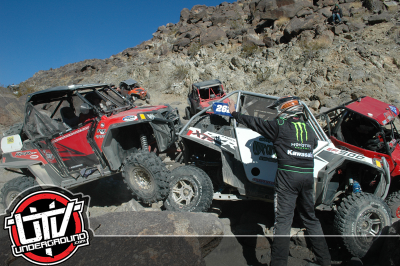 Polaris RZR XP on Elvis during 2012 King of the Hammers UTV Race