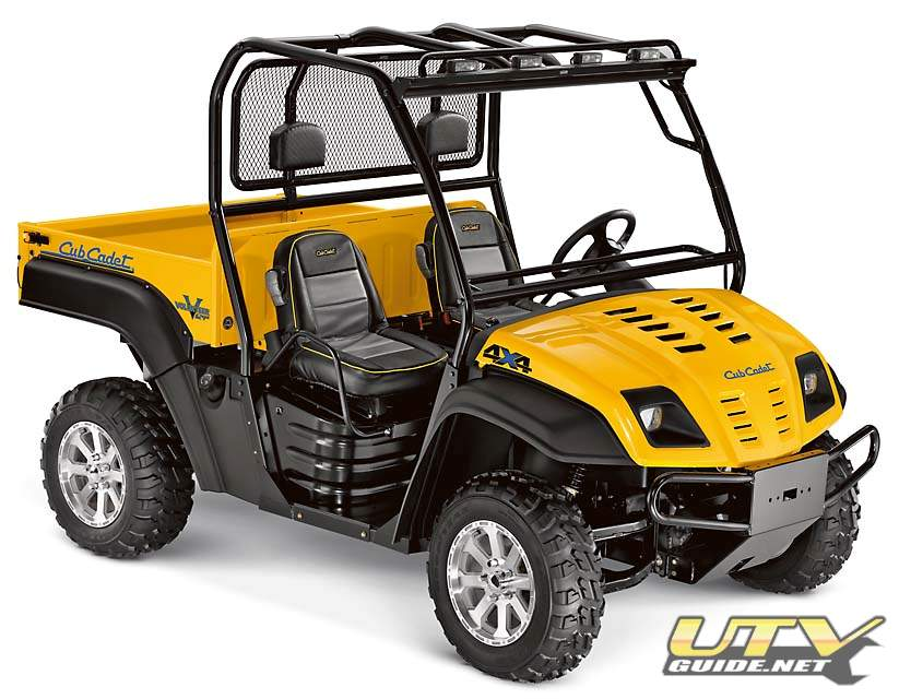 Cub Cadet Volunteer 748cc EFI V-Twin 4x4 - UTV Guide