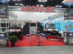 Lucas Oil booth at the 2012 Dealer Expo