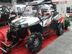Polaris RZR XP 900 with snow plow