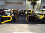 Scorpion USA's booth at the 2012 Dealer Expo