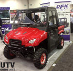 Honda Big Red with DFK Cab