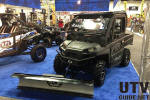 Polaris RANGER XP with snow plow
