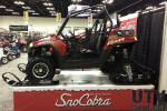 Polaris RZR 800 with tracks