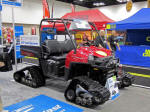 Polaris RANGER with Camoplast Tracks