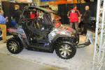 Polaris RZR with KFI Plow